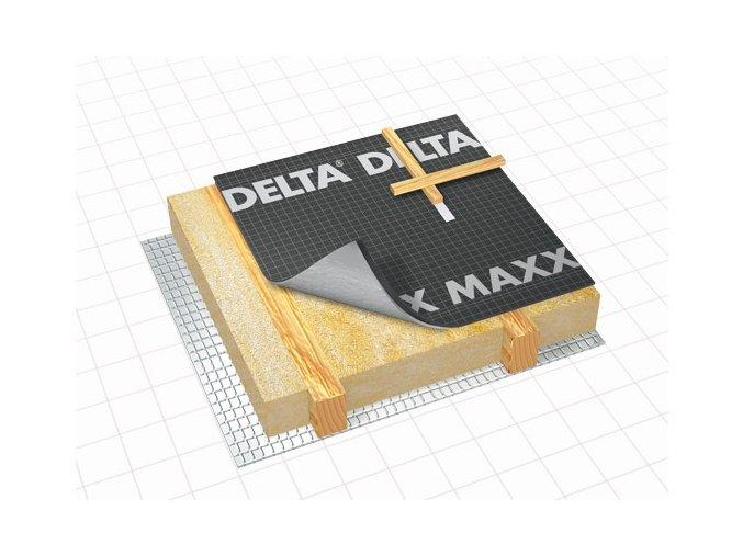 DÖRKEN Delta MAXX PLUS - difuzní střešní folie s páskou