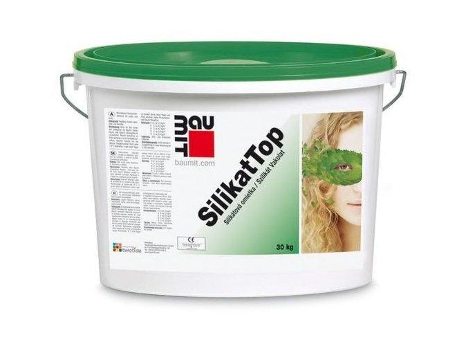 Baumit SilikatTop omítka fasádní barevná 25kg