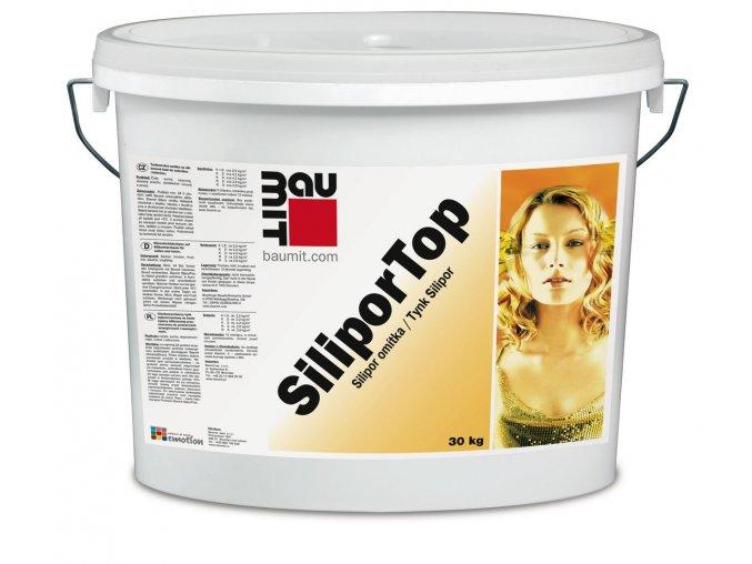 Baumit SiliporTop omítka fasádní barevná 25kg