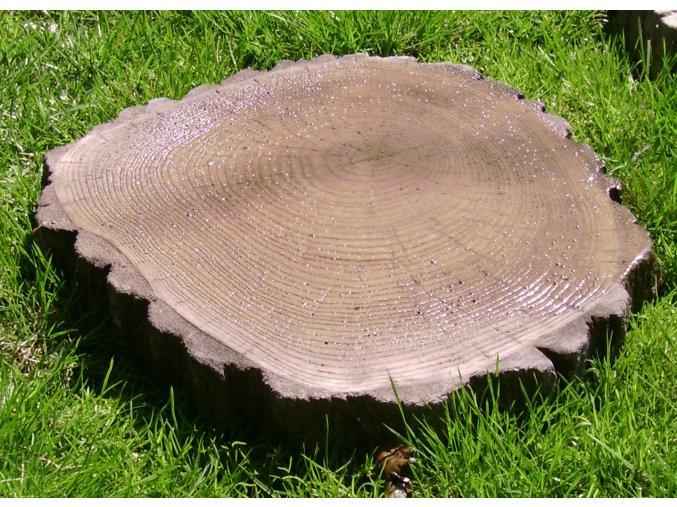 Šlapák imitace dřeva, velký 40x32x4cm