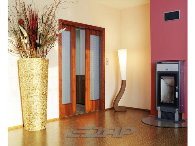 Dveřní pouzdro JAP Komfort do zdi
