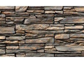 Obklad umělý kámen Ontario tmavý - roh
