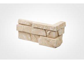Obklad imitace kamene Bastida písková - roh