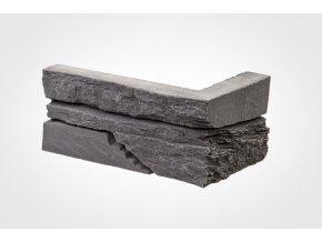 Obklad imitace kamene SW tmavý - roh