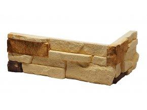 Obklad imitace kamene Alaska Sunny roh - Stegu