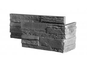 Obklad imitace kamene Creta Grey roh - Stegu