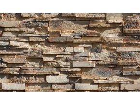 Obklad imitace kamene Grenada 3 mocca - Stegu