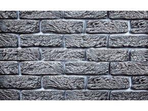 Imitace cihla Hand Brick světle šedá