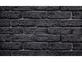 Imitace cihla Hand Brick tmavě šedá