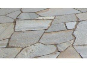 Obklad Kvarcit nepravidelný tvar šedý drobný 1-3cm