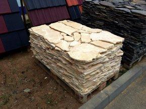 Vápenec obklad 10-50cm tl.1-2cm