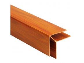 rohový profil COLOR borovice - olše
