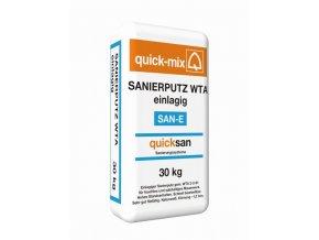 Quick mix SAN-E 30kg jednovrstvá sanační omítka