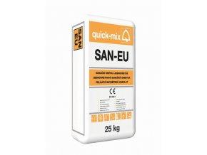 Quick mix SAN-EU 25kg jednovrstvá sanační omítka