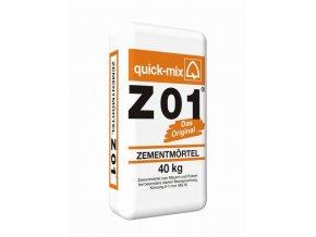 Quick mix Z 01 40kg cementová malta ke zdění a omítání