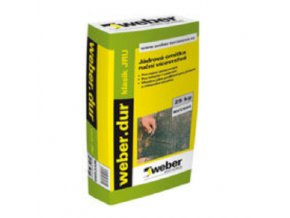 Weber dur klasik JRU-jádrová omítka 2 mm 25 kg