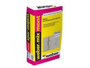 Weber mix mont 25 kg zdicí lepidlo