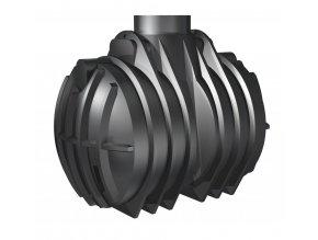 Plastový septik 4000l (dvoukomorový)