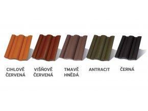 Terran Danubia Colorsystem barvy