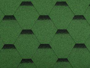 Stresni sindel Guttatec Hexagonal samolepici zeleny