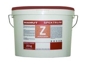 Mamut akrylátová fasádní omítka barevná Spektrum 25kg