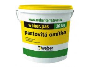 Weber Terranova omítka Weber pas akrylát