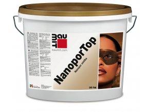 Baumit NanoporTop omítka fasádní barevná 25kg