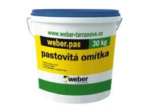 Weber pas silikát zrnitý - silikátová omítka