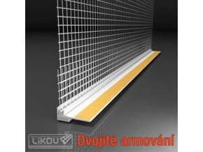 Začišťovací okenní profil EKO