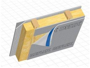 DÖRKEN Delta REFLEX PLUS - hliníková parotěsná folie s páskou