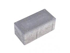 Zámková dlažba parketa 20x10cm 8cm - šedá
