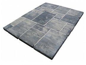 Dlažba Casablanca Prato černo-bílá tl.6cm - Ferobet