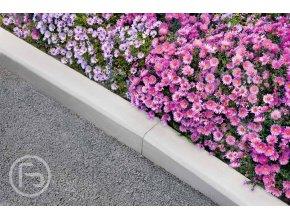 Obrubník chodníkový šedý