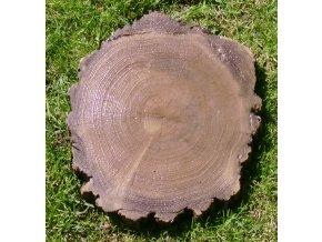 Šlapák imitace dřeva, malý 30x26x4cm