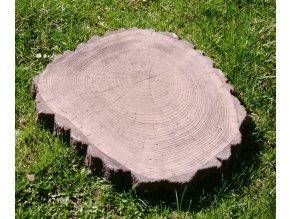 Šlapák imitace dřeva, střední 35x30x4cm
