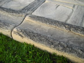 Žlab na vodu imitace dřeva 39x16x5cm