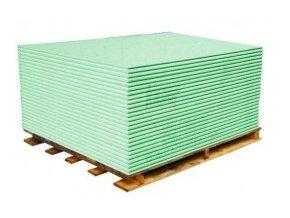 Sádrokartonové desky zelené - impregnované