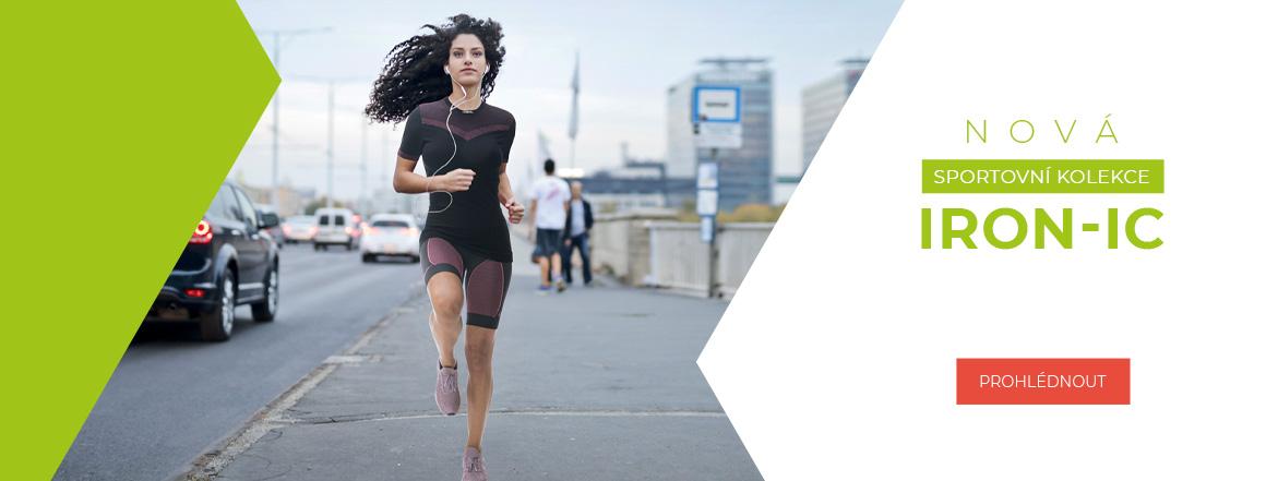 Nová kolekce funkčního oblečení IRON-IC nesmí chybět žádnému sportovci