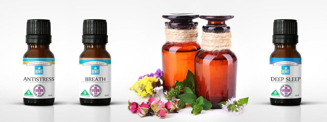 Essenciálne oleje a vône značky BEWIT