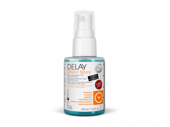 Delay spray - certifikovaný, bezpečný a účinný pre oddialenie ejakulácie
