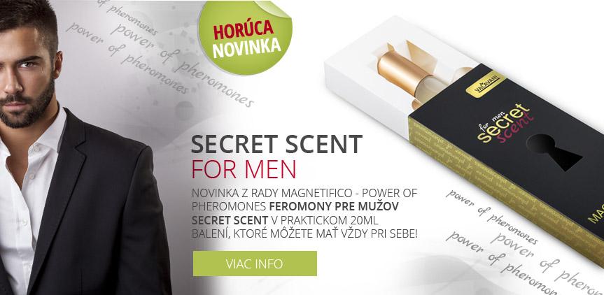 Secret feromony pre mužov