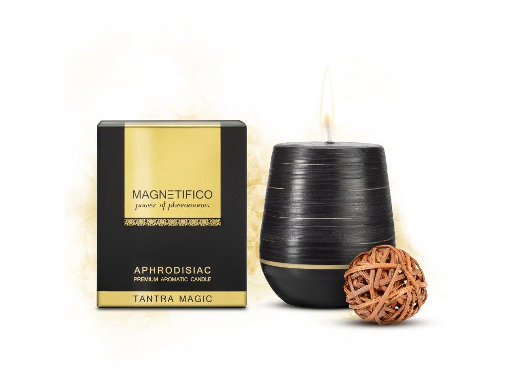 Afrodiziakálna vonná sviečka Tantra Magic zvádzanie