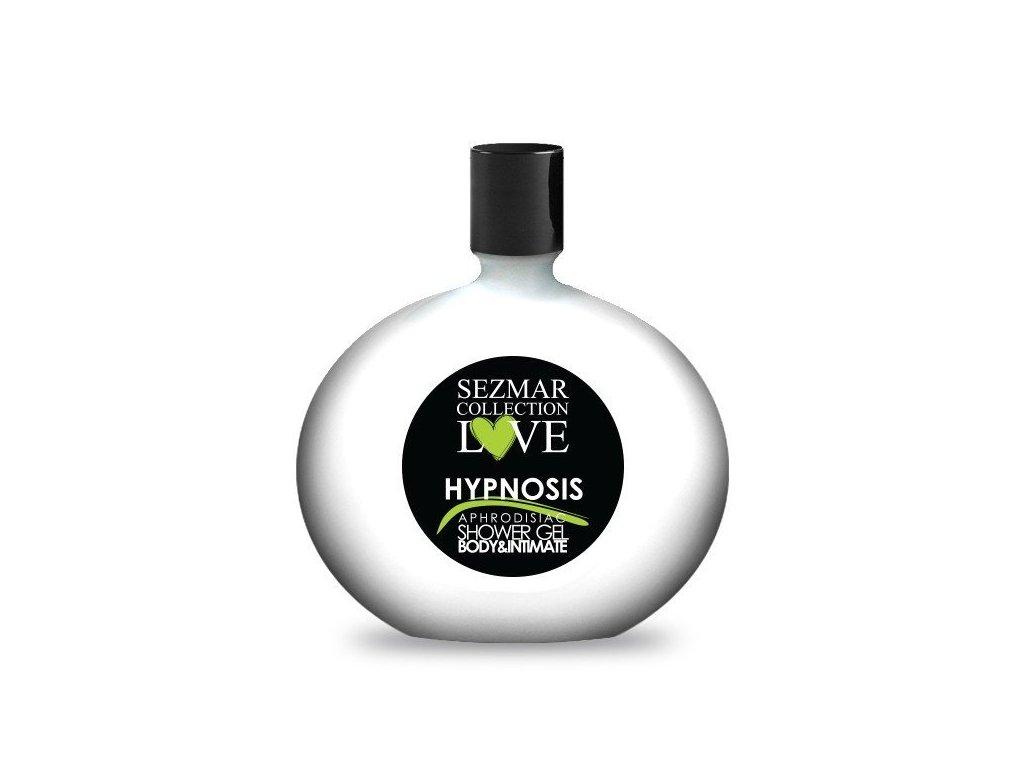 Prírodný intímny sprchový gél s afrodiziakami hypnosis 250 ml