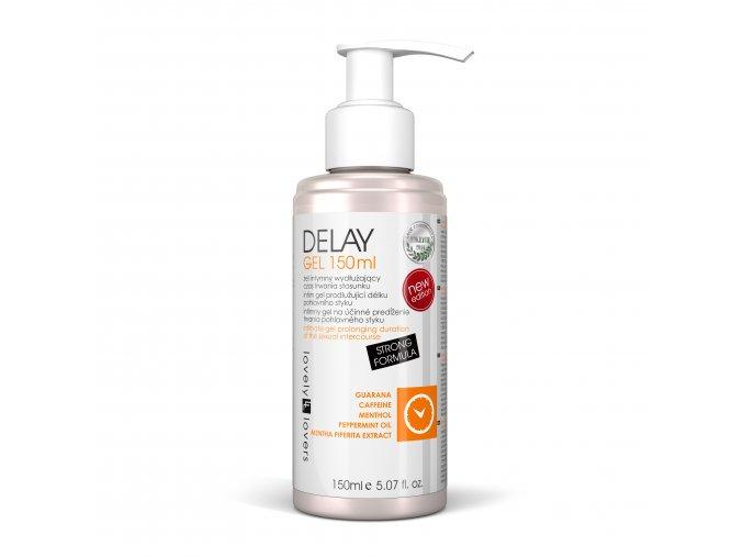 Delay gel 150ml lubrikačný gel pre dlhšiu sexuálnu výdrž