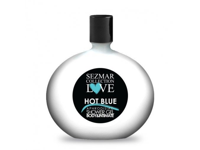 Intimka s afro hot blue