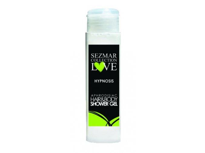 Prírodný intímny sprchový gél s afrodiziakami hypnosis 50 ml