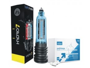 Hydro pumpa Bathmate Hercules a Andrimax 120 kapsúl na zväčšenie penisu