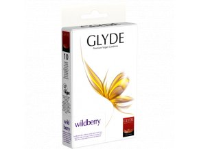 kondom glyde wildberry 10ks