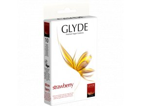 kondom glyde strawberry 10ks