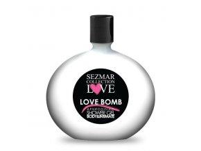 Prírodný intímny sprchový gél s afrodiziakami love bomb